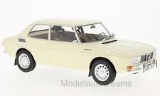 SAAB 99 Limousine beige 1971 2 Türer BOS Resine 1:18