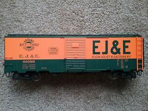 EJ&E INTERMOUNTAIN RWAY 1937 AAR 40' BOXCAR, SCALE RAIL VERSION NOB. CAR #61089