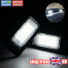 LED HID White Number Plate Lights For Audi A4 B8 TT A6 VW Glof 6 Seat Ibiza ST
