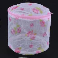 Printing Zippered Mesh Laundry Bag Foldable Washing Clothes Protection Net