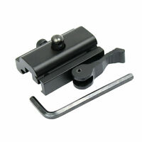 Quick Detach Cam Lock QD Bipod Sling Swivel Adapter 20mm Picatinny Weaver Rail