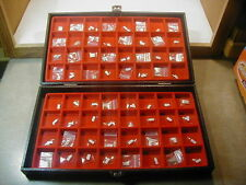 New~ 64pcs Mix Brand ~ Glass Watch crystal Lot ~Look Photo F Shape &size  #NC 25