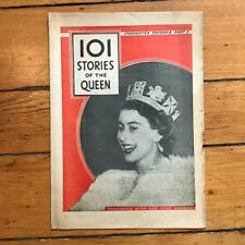 Vintage Red Star Weekly Coronation Edition 101 Stories of The Queen Elizabeth