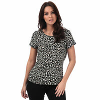 Womens Vero Moda Saga Leopard Print Top In Oatmeal