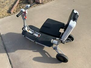 ATTO Deluxe FOLDING Mobility Scooter Moving Life Wheelchair Disabled Wheel Chair