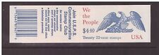 USA 1987 Booklet Drafting of the Constitution mint stamps complete ,open