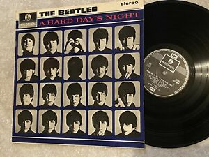 Beatles Lp Hard Day's Night Parlophone PCS 3058 UK EXCELLENT VINYL