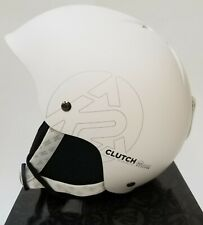 NEW High End $65 K2 Clutch Snowboard Helmet Adult Adjustable Size Small White