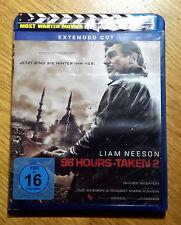 96 Hours - Taken 2 - Extended Cut (Blu-ray) NEU! OVP! Eingeschweißt!