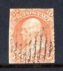 US Stamp 1861, 30c Franklin, Scott #71, Used, Perfs Cut