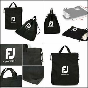 FootJoy Genuine Shoe Bag for Men and Women Shoe Case - Black Color