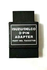 Vetronix 1987 and Up Isuzu / Delco ECM 3-Pin Tech 1 Adapter TA02279B