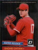 2018 Donruss Optic Baseball Insert Singles (Pick Your Cards)