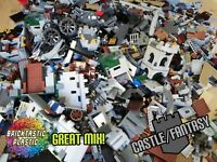 LEGO (x850pc's) 1KG CASTLE & Lord of the rings creativity moc pack(s) Rare parts