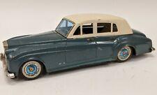 Vintage Bandai Japan Tin Friction Rolls Royce Silver Cloud Toy Car