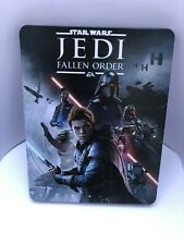 Star Wars: Jedi Fallen Order Steelbook Case PS4/XBOX (NO GAME)