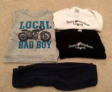 LOT of Motorcycle Gas Company Baby One Piece Romper Tee Shirt 6-12 month