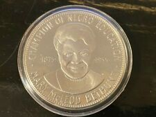 New ListingBlack Americans Silver Commemorative Medal Famous African American