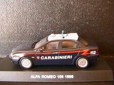ALFA ROMEO 156 2.0 T.SPARK CARABINIERI 1999 DEAGOSTINI 1/43 BERLINE BERLINA