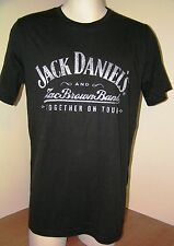 JACK DANIEL'S & ZAC BROWN BAND T SHIRT Together on Tour Men's Large L  NEW