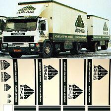 Scania GASA Århus Danimarca (DK) 1:87 camion decalcomania autocarro