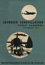 LOCKHEED 649 & 749 CONSTELLATION - POCKET HANDBOOK - SEPTEMBER 1951