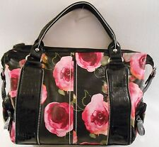 FLOWER PATTERN BELLEROSE Handbag PURSE BRIGHT SUMMER PRINT Shoulder Bag Purse