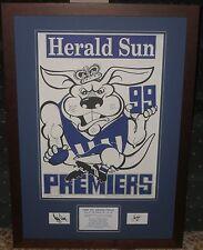North Melbourne 1996 & 1999 Weg Tributes *Signed*