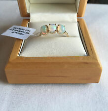 Cabochon 9 Carat Yellow Gold Fine Rings
