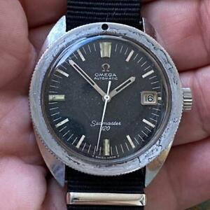 OMEGA SEAMASTER 120M REF. 166.027 VINTAGE WATCH 100% GENUINE 1968