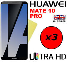 3x Ultra Hd Clear Screen Protector Cover Saver Film Guard For Huawei Mate 10 Pro