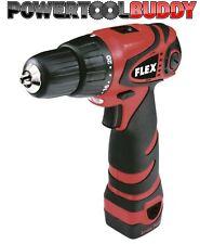 Flex ALi 10.8V 2-Speed Drill Driver 2 X LI-ION Battery Charger & Case