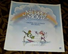 THE MUPPET MOVIE ORIGINAL 1979 ATLANTIC RECORDS SOUNDTRACK PROMO POSTER