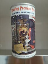 Reading Light Premium Pa Straight Steel Beer Can Bicentennial