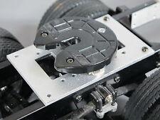 Aluminum 5th Wheel Coupling Mount Plate Tamiya 1/14 King Grand Hauler Scania Man