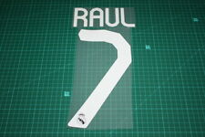 Real Madrid 07/08 #7 RAUL Awaykit / 3rd Awaykit Nameset Printing