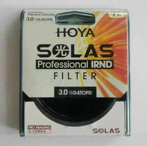 Hoya Solas 72mm IRND 3.0 (10 Stops) Infrared Neutral Density Filter - With Case