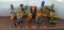 2007 Burger King Toys The Simpson's Lot of 10 With Sound
