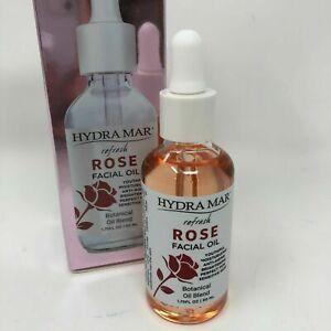 Hydramar Rose Facial Botanical Oil 1.75 oz Anti Aging Sensitive Skin Moisture