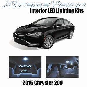 XtremeVision Interior LED for Chrysler 200 2015+ (11 PCS) Cool White