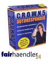 CROWN 5 AUTORESPONDER Follow Up Software TOOL AUTOMATISCHE EMAILS NEU E-LIZENZ