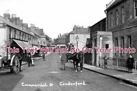 GL 667 - Commercial Street, Cinderford, Gloucestershire - 6x4 Photo