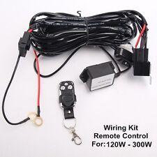 Remote Control Wiring Harness Kit Switch Relay Led Light Bar 120W 180W 240W 300W