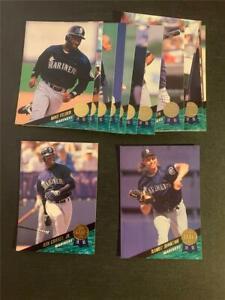 1993 Leaf Seattle Mariners Team Set 17 Cards