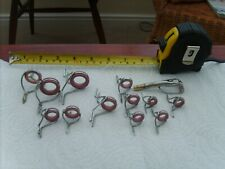 fishing vintage rod rings