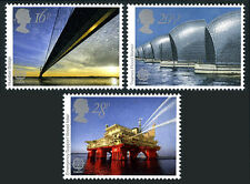 Great Britain 1019-1021,MNH.Engineering Achievements.Bridge,Flood barrier,1983