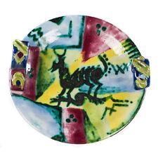 Ceramic plate Vally Wieselthier Wiener Werkstaette ca. 1926