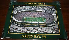 Green Bay Packers Lambeau Field Laminated 24x18 Poster
