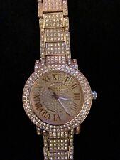 Michael Kors watch pave rose gold MK5412 Wrist Watch Women diamond encrusted