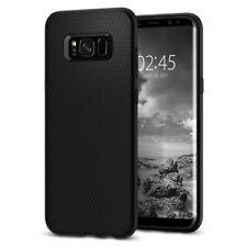 Spigen®Samsung Galaxy S8 Plus [Liquid Air Armor] Shockproof Black Case Cover